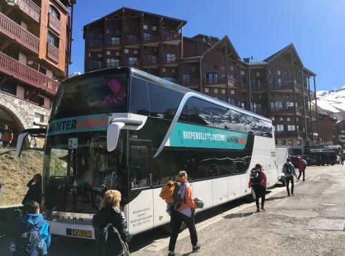 Met Winterliner op wintersport. Goedkope Royal Class buspendels naar de sneeuw in Oostenrijk en Frankrijk, Dutchweek.