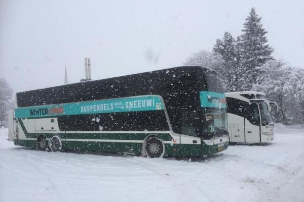 Winterliner Italie dubbeldekker buspendel